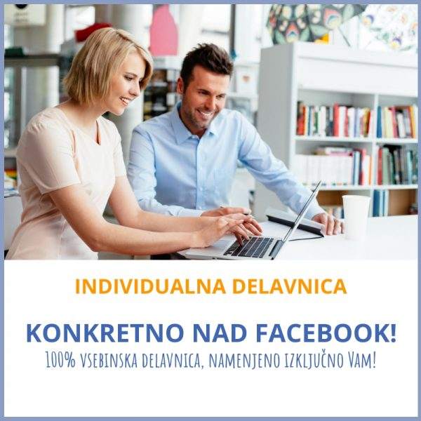 Individualna delavnica Marketing z Mojco