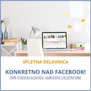 Spletna Facebook delavnica